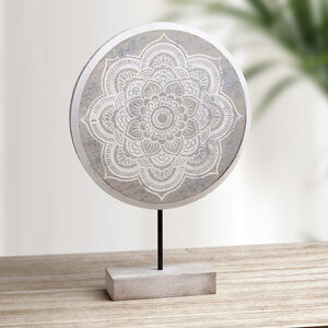 Patterned 3D Silver Foil Home Decoration