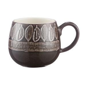 Mason Cash Impressions Brown Leaf Mug