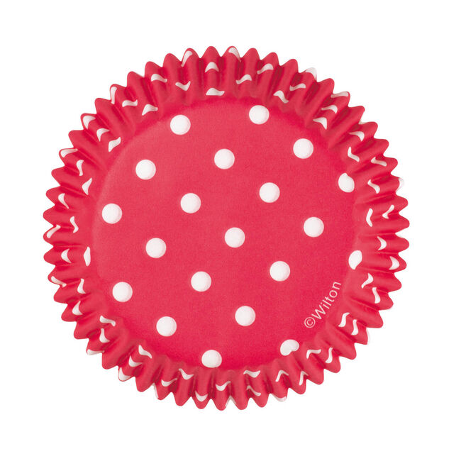 Wilton Cake Cases 75 Piece - Red