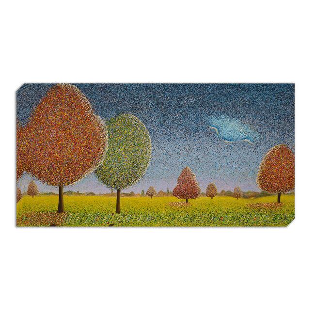 Autumn Migration Canvas 50 x 100cm