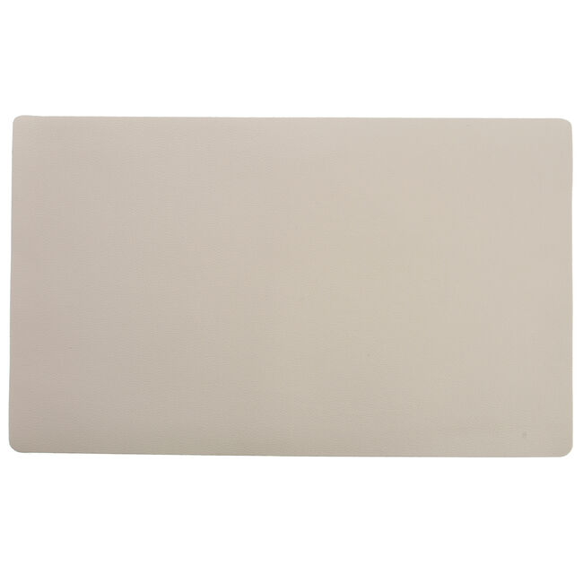 Leather Cream Placemat