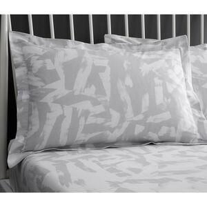 Adam Oxford Pillowcase Pair - Grey
