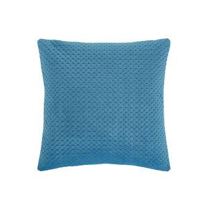 Velour Stitch Teal 45x45 cushion
