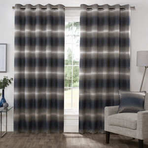MIDNIGHT NAVY  66X54 Curtain