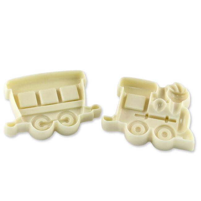 JEM Train and Coach Pop It Moulds Set of 2