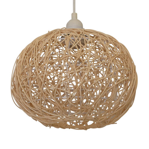 Rattan Ball Easy Fit Shade