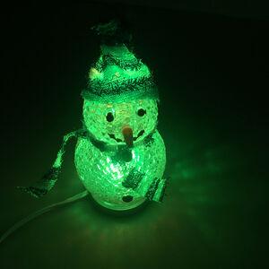 Colour Changing USB Snowman