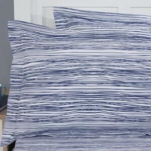 Tangled Stripe Navy Oxford Pillowcase Pair
