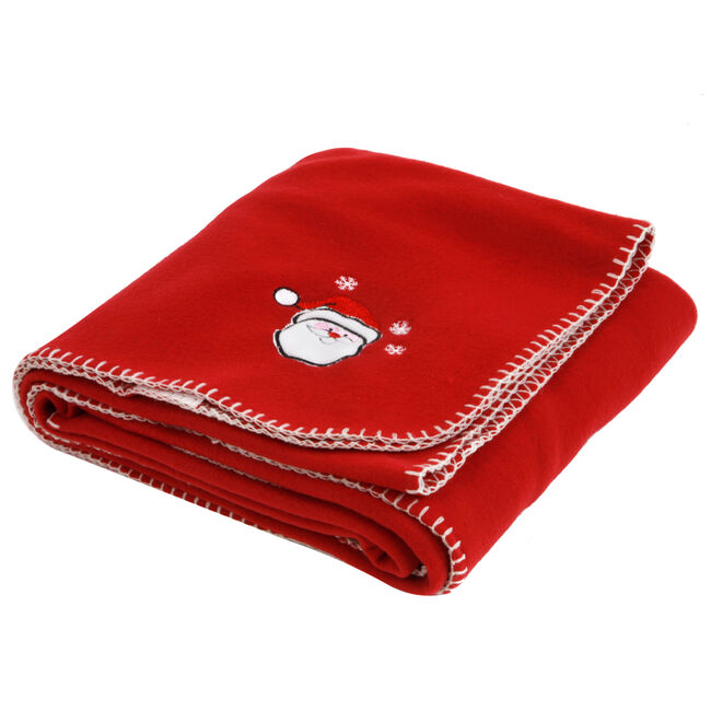Christmas Character Throw Red