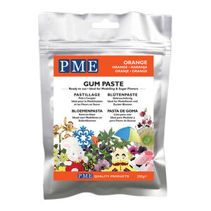 PME Gum Paste - Orange