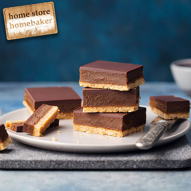 Vegan Friendly No Bake Millionaire Shortbread