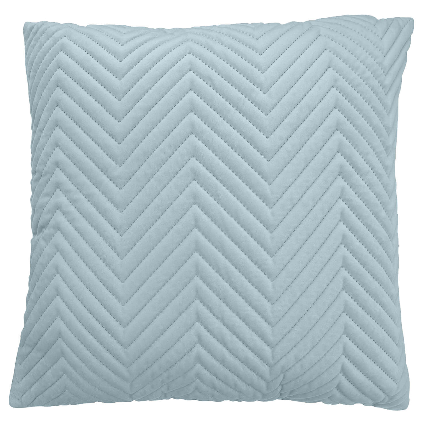 Triangle Stitch Cushion 58x58cm - Mint
