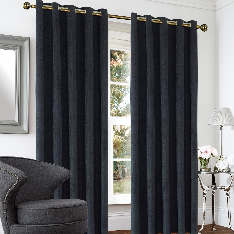 Blackout & Thermal Herringbone Curtains