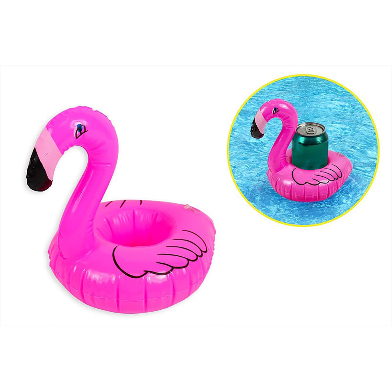 Images. Inflatable Flamingo Drink Holder