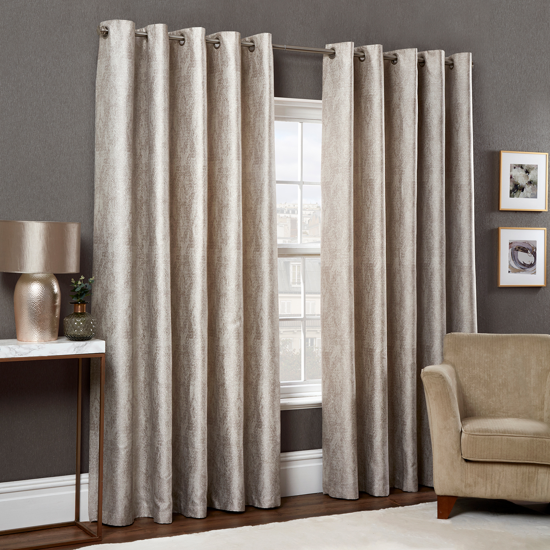Lurex Chevron Curtains Home Store More