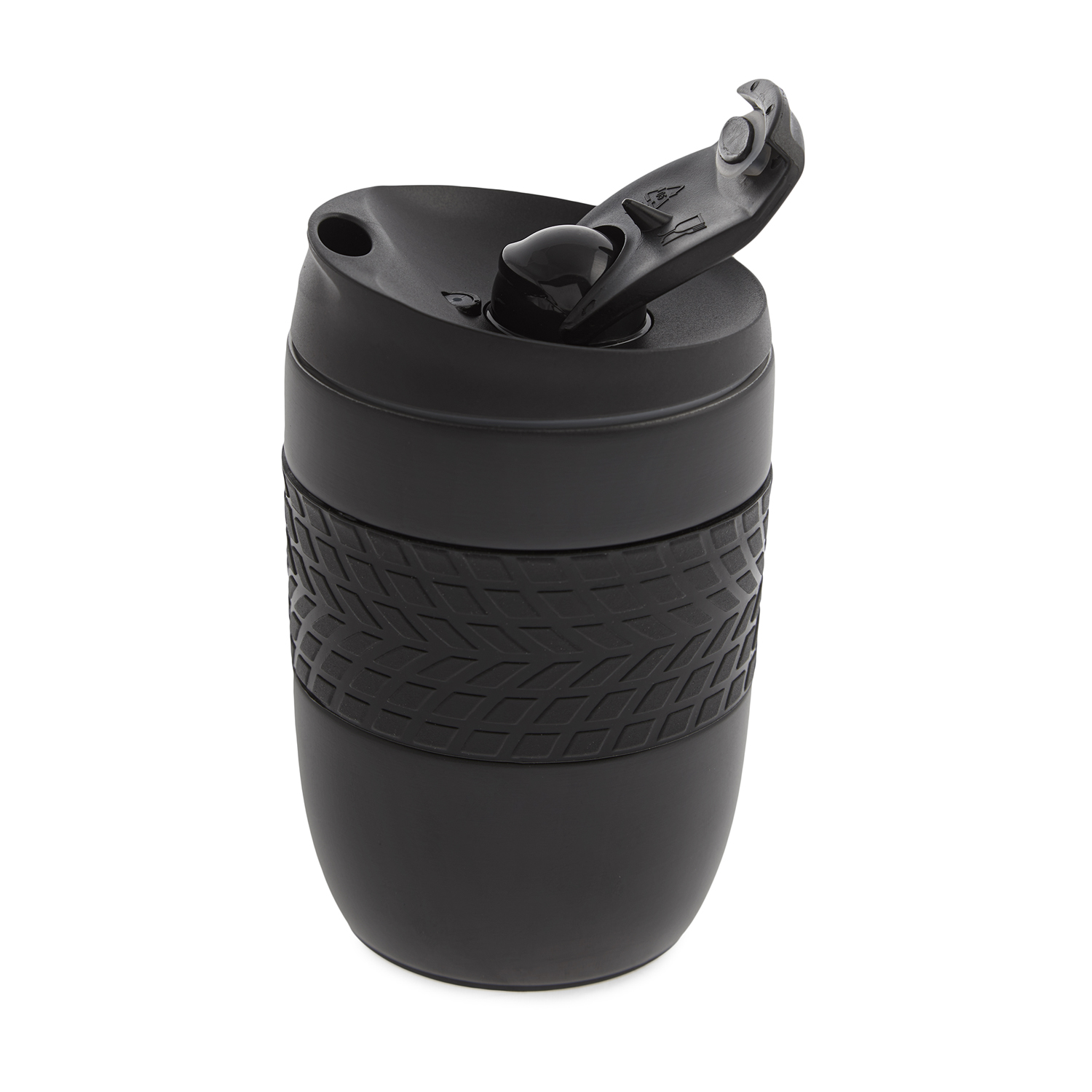 Body Go Stainless Steel Travel Mug 260ml Black Home Store More