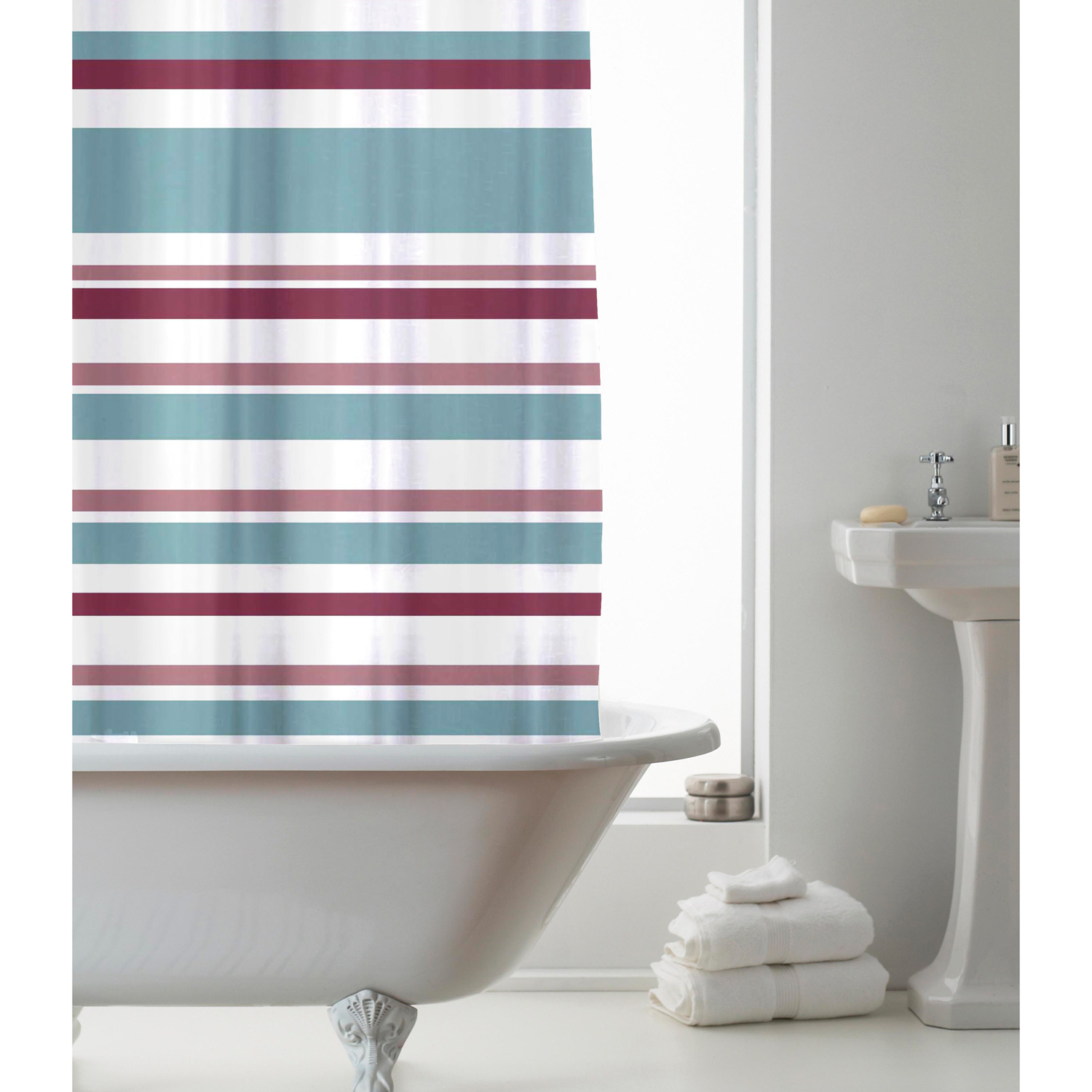 Images Peva Tuile Shower Curtain