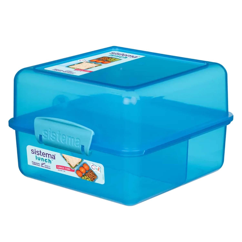 Klip It Airtight Lunch Cube Colour - Home Store + More
